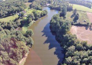 Luchtfoto van gedeelte Le Touroulet