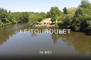 Karpervissenin Frankrijk mei Le Touroulet